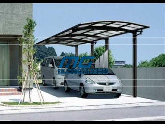Estructuras metalicas montaje de estructuras metalicas for Garajes con techos policarbonato